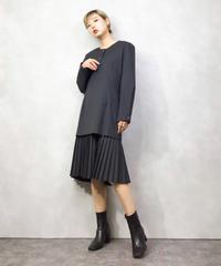 Dark gray  import docking dress-1001-3