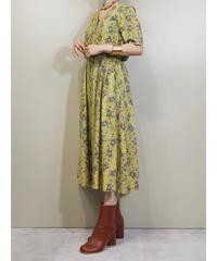 REONOBLE v neck rétro flare dress-1986-6