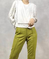 TREBI white classical rose shirt-1031-4