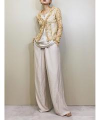 MODA INTERNATIONAL lace shirt-1126-5
