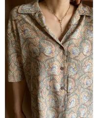LeCoNFORT pale color floral shirt-2039-7