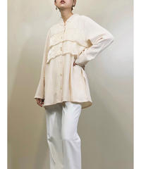 Petitjour frill design  long shirt-1247-7