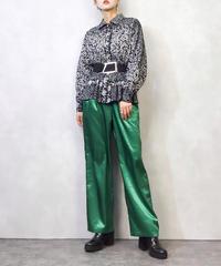 Leaf wind monotone rétro shirt-891-2