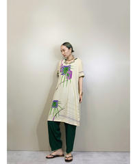 Ethnic design import traditional mid green set up-1882-5