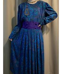 Karin Stevens paisley design long  dress-2231-10