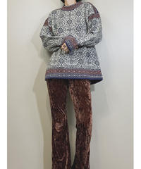 MADE IN ICELAND norwear pure new wool knit-1595-1