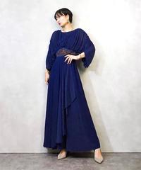 IGIN ESTEVEZ drape maxi dress-952-3