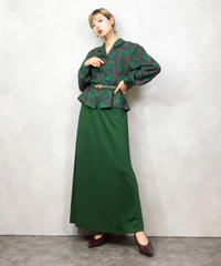 SAGA MORE green rétro shirt-1006-3