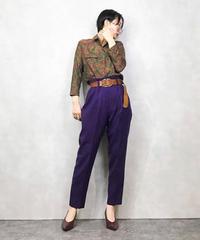 TIGG paisley pattern rétro shirt-1009-3