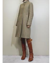CLAUDIE PIERLOT herringbone pattern coat-1606-1