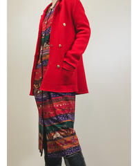 WILSHIRE vivid red new wool jacket-1409-9