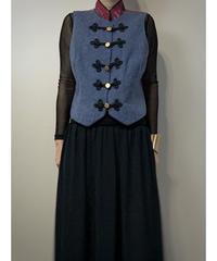 TAPP made in u.s.a. vintage wool vest-2238-10