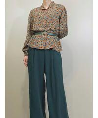 SAGA MORE rétro pattern shirt-1662-2