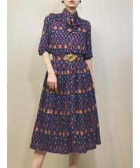 italiya navy elegant dress-1138-5