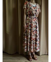 JONI BLAIR classical flower import dress-1990-6