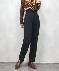 OVER TWENTY high waist wool  pants-821-1