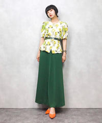 Chalet Blanc green apple shirt
