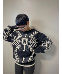 COLLECTIF pure wool import knit-1557-12