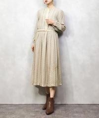 ELLE PARIS beige elegant dress-1096-5