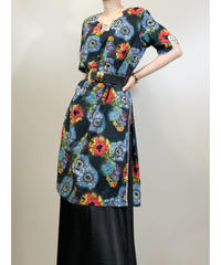 National costume exotic design side slit tunic-1910-5