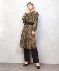 TOKYO CHIGUSA paisley dress-986-3