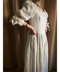 BERWIN&WOLFF linen 100% vintage dress-2185-9