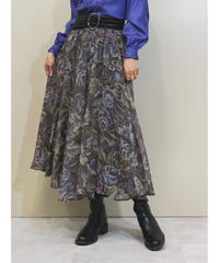 MADE IN ITALY ghita GONNE airy skirt-1350-9