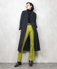 KAJIURA quilting long coat-805-1