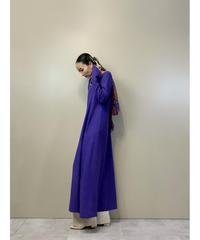 ethnic design purple long dress-2443-10