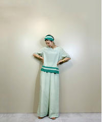 Green color relax import set up-2032-7