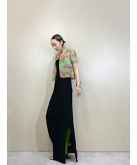MISAWA loop sleeve vitamin color shirt-1911-5