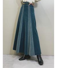 SHINE ORIGINAL LADY'S TOKYO velor maxi skirt-1638-1