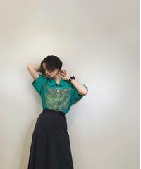 BRUNO PIRTTELLI green stripe shirt-1283-7