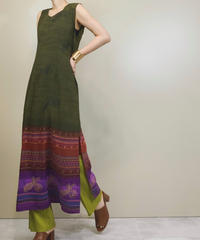 TRENDY LOOKS exotic slit dress-1201-6