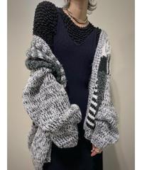 STREET SCENES acryl knit cardigan-2172-9