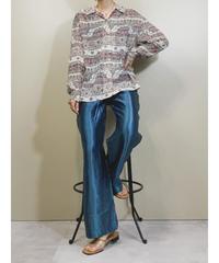 Exotic pattern thin fabric  elegant shirt-1860-5