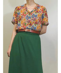BIGI small flower pattern rétro shirt-1182-6