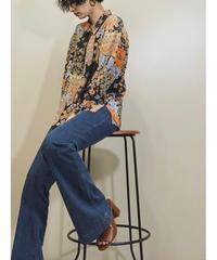 Viyella silk flower rétro shirt-1193-6