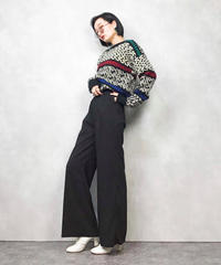 LINCOLN labyrinth wool knit-829-1