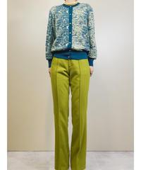 Avant-garde dull color knit cardigan-1621-1