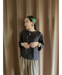 MELS EXCELLENT paisley design silk tops-2071-8