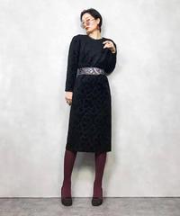 ZELDA NICOLE CO.LTD.leaf dress-847-1