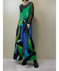 Farres Noirs rétro modern import cotton dress-2121-8