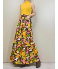 TaungewearbyGOSSARD MADE IN U.S.A yellow dress-1339-8