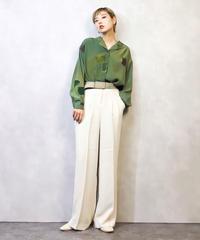 Prany  Rose green mottled shirt-947-3