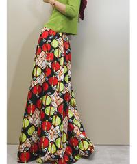 Volume silhouette import maxi skirt-1315-8