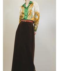 Sillook marigold design rétro shirt -1480-10