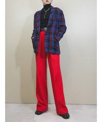 Iasserre wool100% plaid tailored  jacket-1665-2