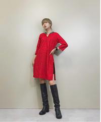 Kari gari china design  red tunic-1336-8