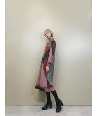 new Roman crossing lines rétro dress-1426-10